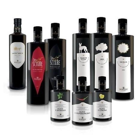 Oli extravergine di olive aromatizzati
