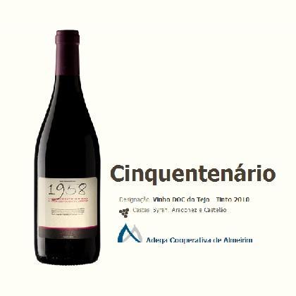 Vinho tinto 2010 (0,75L)                       ADEGA COOPERATIVA DE ALMEIRIM