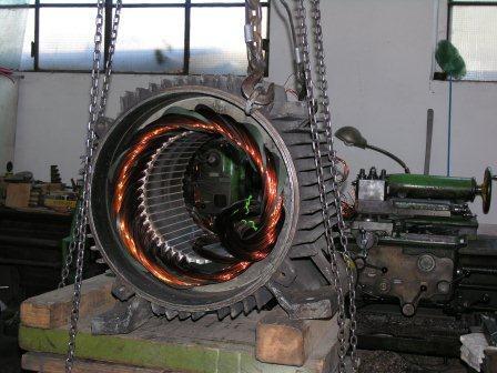 Avvolgimenti motori elettrici monofase trifase