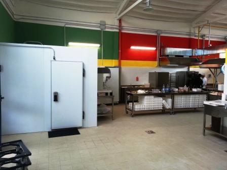Zona preparazione e refrigerati(parziale) IQC