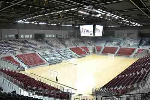 Avatar Seating installed at Qatar Handball Association Complex, Lekhwiya, Doha, Qatar, 2014
