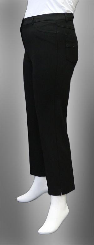 High Quality, Ankle Length, High Waisted, Plus Size Trousers. Available Sizes: (42-52), %65Polyester-%30Viscose-%5Elastan