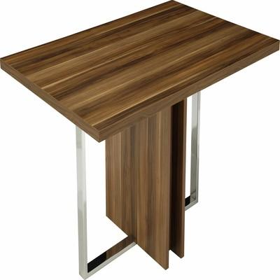 Metal and wooden table