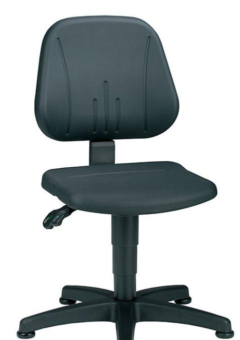 swivel chair with gas-lift height adjustment