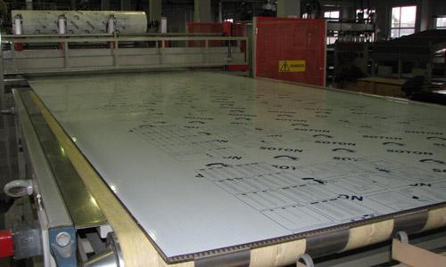 Производство сотовых листов из поликарбоната