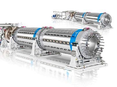 KraussMaffei Berstorff Einschneckenextruder zeichnen sich aus durch ihre einfache & robuste Maschinenkonstruktion, geringen Wartungsbedarf, höchste Drehmomente und freie Gestaltung des Verfahrensteils