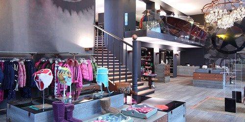 Laden Konzept und Ladenbau Fashion