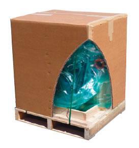 Emballage carton ondulé. Tri-wall