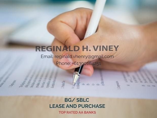 BG/SBLC LEASE AND PURCHASE