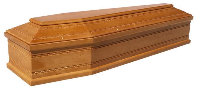 Cercueil du sapin, épaisseur 22 mm - 115 eur. Cercueil du tilleul, épaisseur 22 mm - 145 eur.
