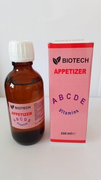 Apetizer syrup