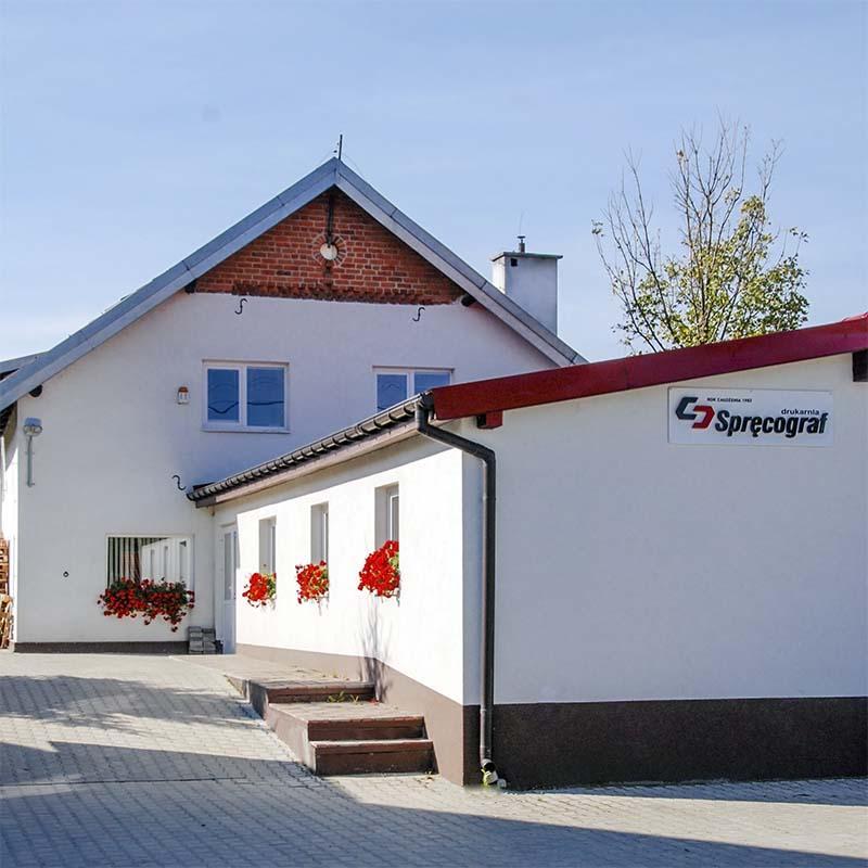 Printing house Spręcograf