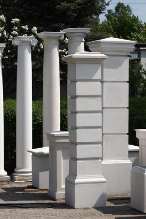 Słupki i kolumny betonowe