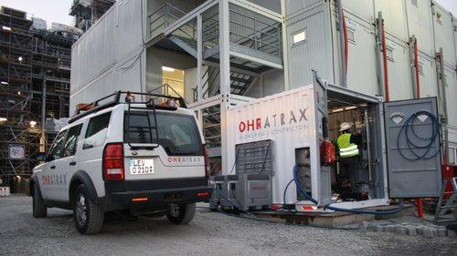 Mobiler Service auf der Projektbaustelle