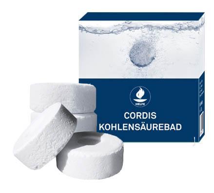 Wir verwenden wir für unsere Kohlensäure Bäder nicht ausschließlich Pulver, sondern pressen dieses in Tablettenform. Durch die gleichmäßige Entfaltung wird die maximale therapeutische Wirkung erreicht