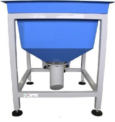 Füllbehälter Abrasiv Material max 250 kg