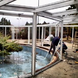 Fix and movable Glass Roof solutions