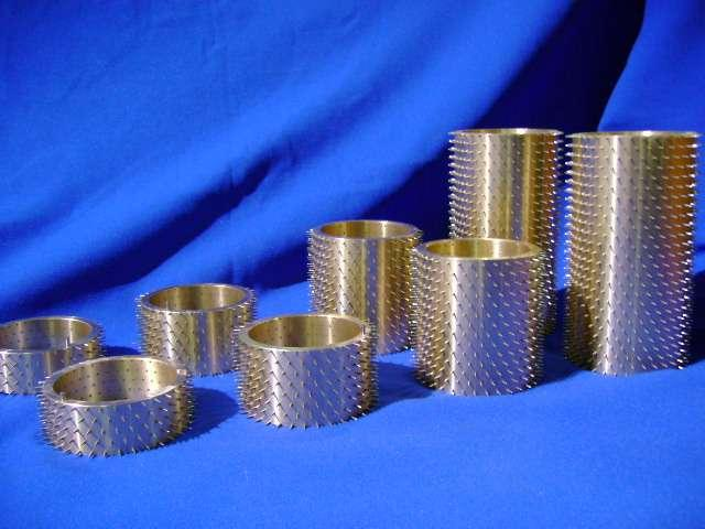 Stewarts of America manufacture a wide verity of pinned tooling for Hot pin perforating and Cold pin perforating. Stewarts can manufacture up to 4000 pins per square inch if required.