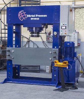 Hydraulische Werkstattpressen von Härtel
