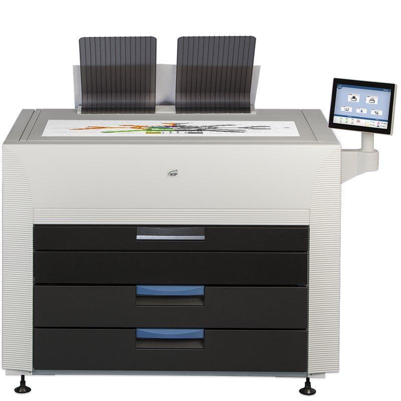 tonerbasierter Farbdrucker, 8 A1 pro Minute, Druckbreite 914 mm, bis zu 268 qm pro Stunde, UV-stabil, wasserfest, Plakatdruck und technische Zeichnungen in perfekter Qualität, schnell, kosteneffizient