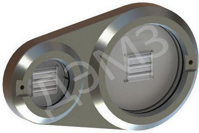 LED buffer-beam lamp BF-5 for locomotives