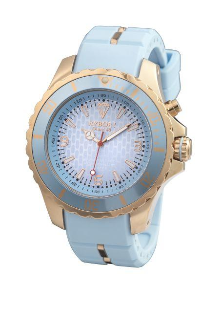 Rose Gold Light Blue