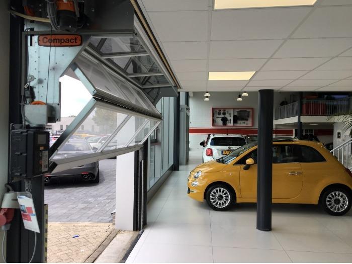 Compact folding door - Automobilbranche