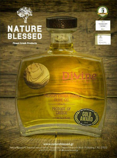 GOLD AWARD in NYIOOC 2015               Send us an email 	                 info@natureblessed.gr
