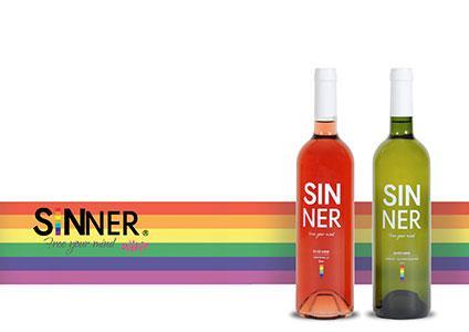 Sinner Wine vino lgbt lgbt
