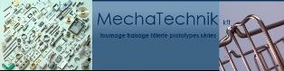 MECHATECHNIK Kft - LOGO - REALIZATION MECHANICAL PARTS, MILLING AND TURNING PARTS, BENDING, WELDING