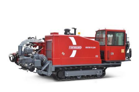 FORWARD horizontal directional drilling rig with  thrust-pullback 33 tons.
