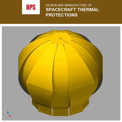 The process starts by creating 3D models of the blankets, making sure that the critical areas of the spacecraft of subsystem are fully covered by the MLI.
