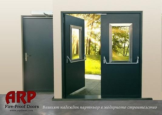 Steel Fire-Proof Doors Series Prestige