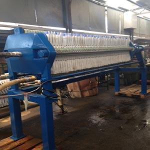 FILTER PRESS SM600 with 60 PLATES - RENTAL