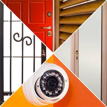 Inferriate, allarmi e videosorveglianza, persiane e porte blindate, serramenti di qualità.