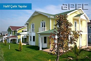 APEC, hafif çelik konstriksiyon ile depreme dayanıklı, yenilikçi, ekonomik ve modern yaşam alanları üretmektedir.