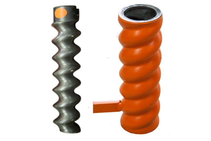 """Schneckenpumpen für Putzmaschinen. Wir führen viele verschiedene Modelle, wie zum Beispiel den Rotor Stator """"Tornado"""" D6-3"""""""