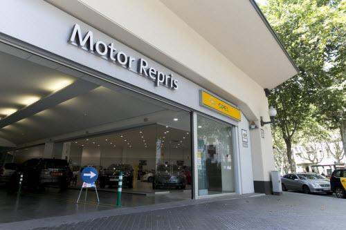 Concesionario Opel en Gran Via