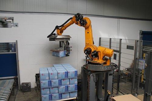 Automatisierte Verpackung