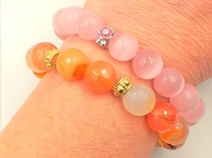 Stones Elastic Bracelets