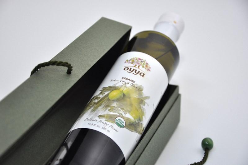 Huile d'olive extra vierge BIO Tunisienne OYYA OIL Certifiée.