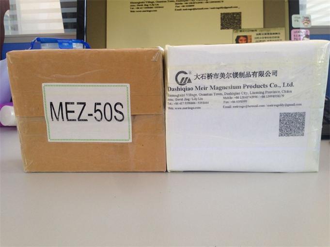 Samples of MgO Powder