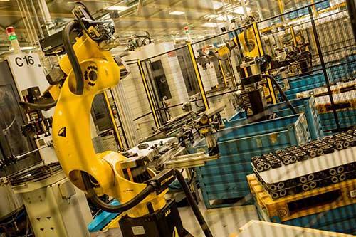 Produzione robotizzata