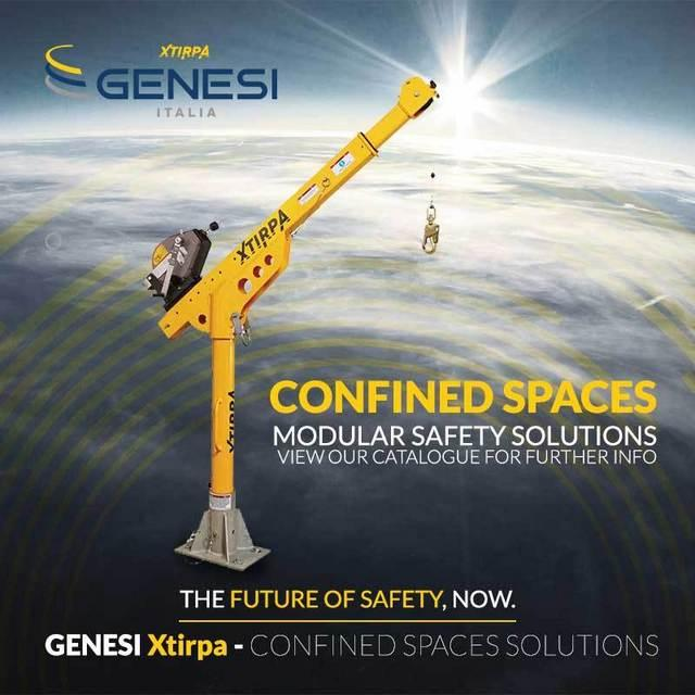 Genesi is specialized in Confined Space safety, both in risk assessment and practical solutions. We provide, light weight, modular products solution to access and rescue in confined spaces.