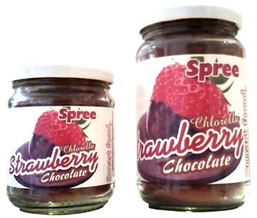 Spree Chocolate Strawberry, enriched with Chlorella.