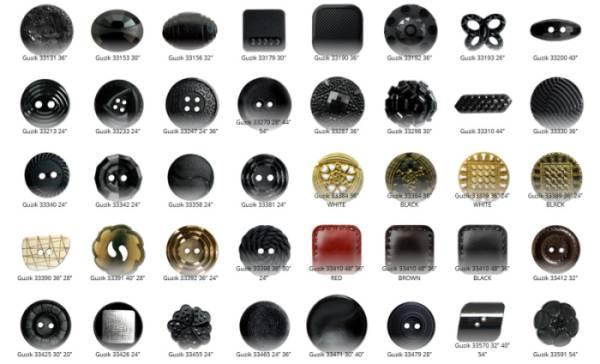Guziki - buttons