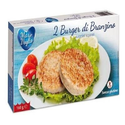 Burger di Branzino SENZA GLUTINE