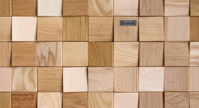 Wooden panels Mosaic Pixel