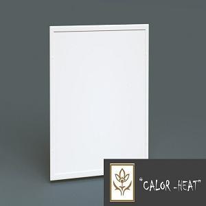 Panel de calefacción por infrarrojo para interior. Medidas: 60x60 cm, 60x90 cm, 60x120 cm, 60x150 cm, 60x180 cm. Color blanco.
