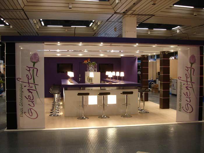 Eurl thierry pupier foires et expositions agencements for Montage stand salon